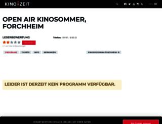 open-air-kino-forchheim.kino-zeit.de screenshot