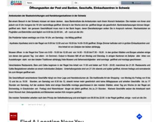 open-closed.ch screenshot