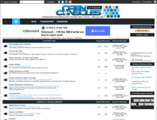 open-consoles.com screenshot