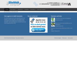 open-innovation-france.sitewebentreprise.fr screenshot