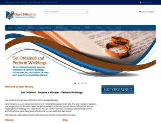 open-ministry.org screenshot