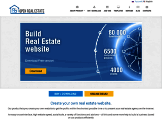 open-real-estate.info screenshot