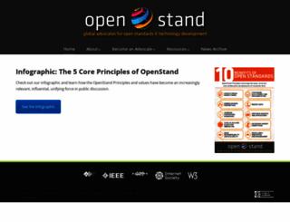 open-stand.org screenshot