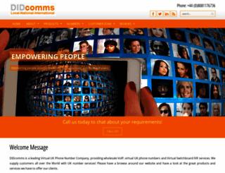 open-telecom.co.uk screenshot