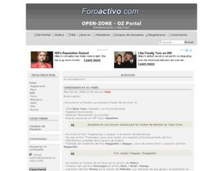 open-zone.foroactivo.net screenshot
