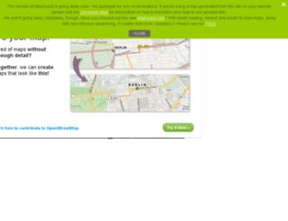 open.mapquest.jp screenshot