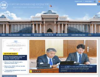 open.parliament.mn screenshot
