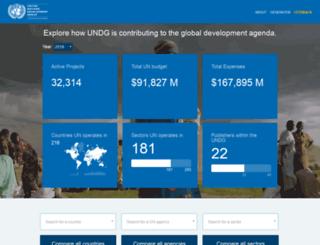 open.undg.org screenshot