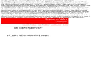 open.vodafone.it screenshot