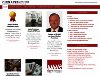 openafranchise.com screenshot