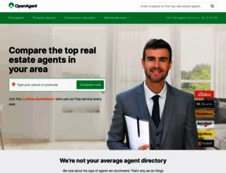 openagent.com.au screenshot
