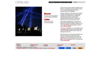 openairphilly.net screenshot