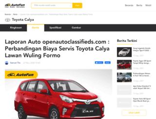 openautoclassifieds.com screenshot