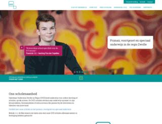 openbaaronderwijszwolle.nl screenshot