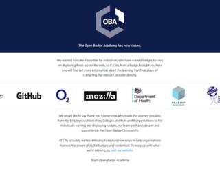 openbadgeacademy.com screenshot