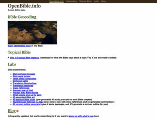 openbible.info screenshot