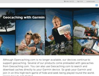 opencaching.com screenshot