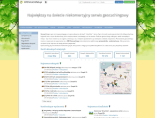 opencaching.pl screenshot