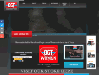 opencarrytexas.org screenshot
