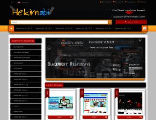 opencart-christmas-theme.hekimabi.com screenshot