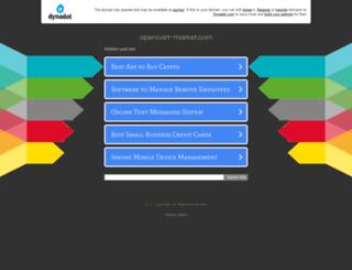 opencart-market.com screenshot