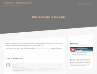 opencarttemplates.com screenshot