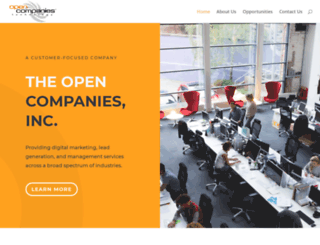 opencompanies.com screenshot