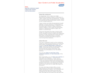 opencontent.wgbh.org screenshot