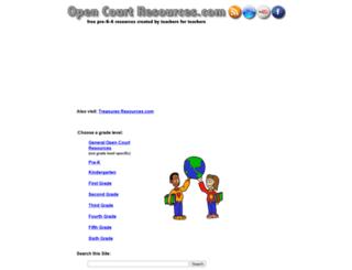 opencourtresources.com screenshot