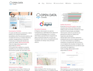 opendatacordoba.org screenshot
