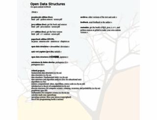 opendatastructures.org screenshot