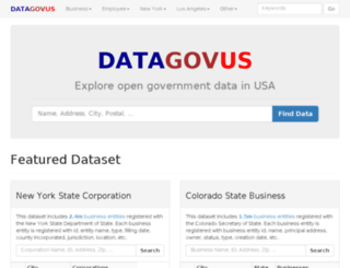 opendatausa.com screenshot