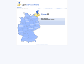 opendi.de screenshot