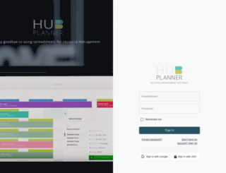 opendigital.hubplanner.com screenshot