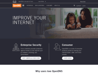 opendns.com screenshot