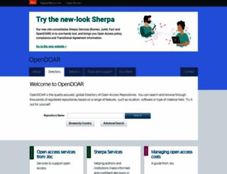 opendoar.org screenshot