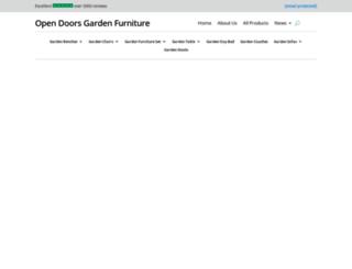 opendoorsgardenfurniture.co.uk screenshot