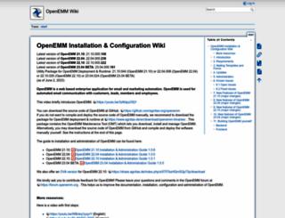 openemm.org screenshot