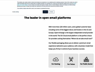 openexchange.com screenshot