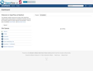 openflow.stanford.edu screenshot