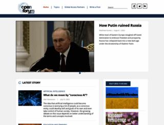 openforum.com.au screenshot