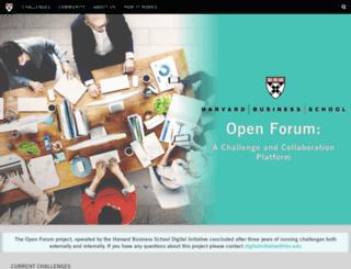 openforum.hbs.org screenshot