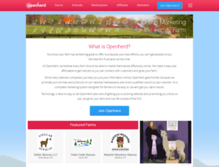 openherd.com screenshot