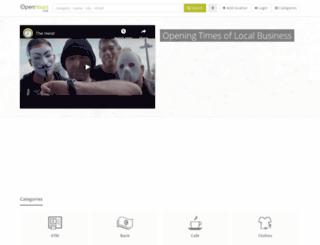 openhours.com screenshot