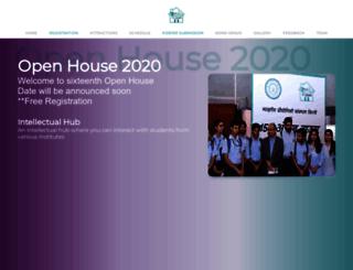 openhouse.iitd.ac.in screenshot