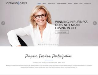 openinggates.com screenshot