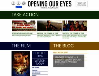 openingoureyes.net screenshot
