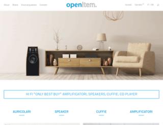 openitem.it screenshot