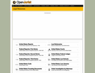 openjurist.org screenshot