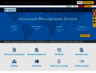 openkm.com screenshot
